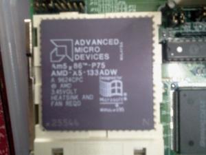 Detalle del procesador